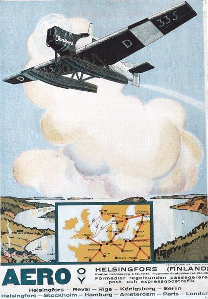 finnair-poster