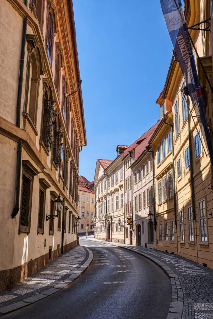 Δρομος στην Πράγα