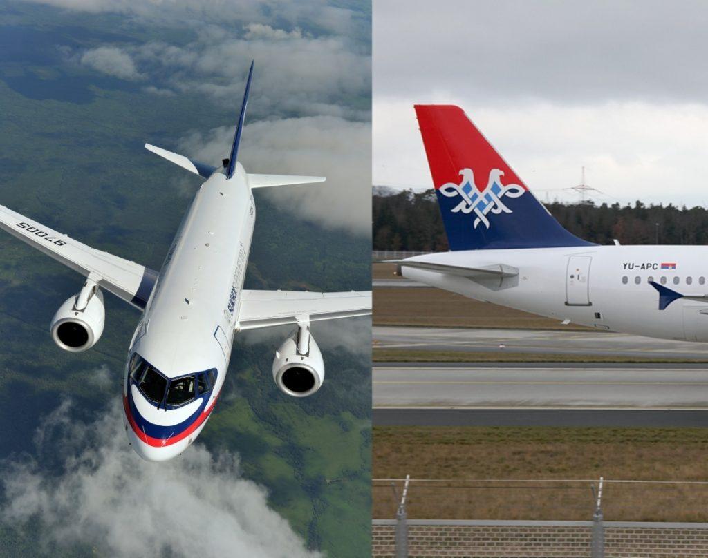 Air Serbia - Sukhoi